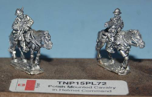 Polish Mounted Cavalry in Adrian helmet Command