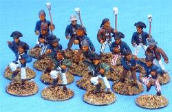1700s Naval Crew with Swivel Guns