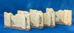 Stucco Walls - pack of 4