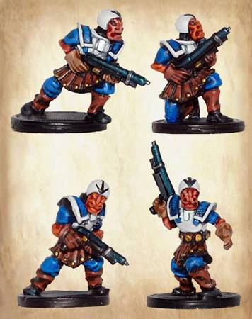 Mercurian Infantry