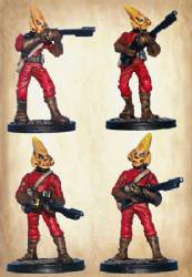 Plutonian Infantry