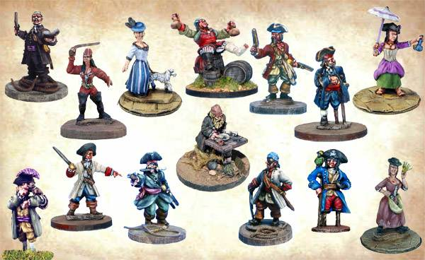 Old Glory Army Pirates
