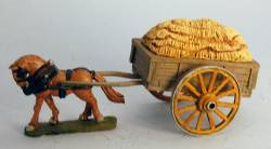 Hay Cart with spoked wheels
