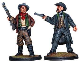 Billy the Kid and Pat Garrett