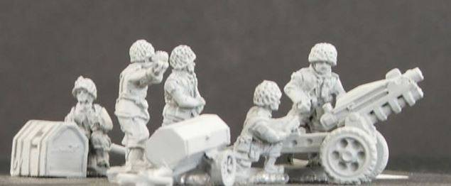 Paratroopers with 75mm Howitzers