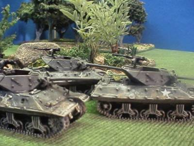 M10 Tank Destroyers