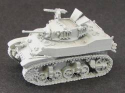 M5 A1 Light Tanks
