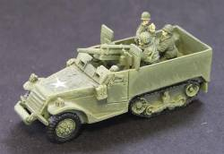 T19 105mm SP Halftracks
