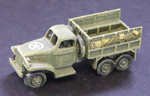 SWB GMC Hard top cab with troop seats