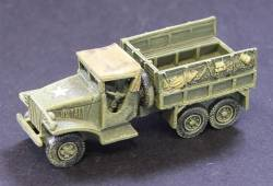 SWB GMC Soft top cab with troop seats