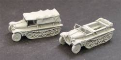 Sdkfz 10 Light Artillery Tractor