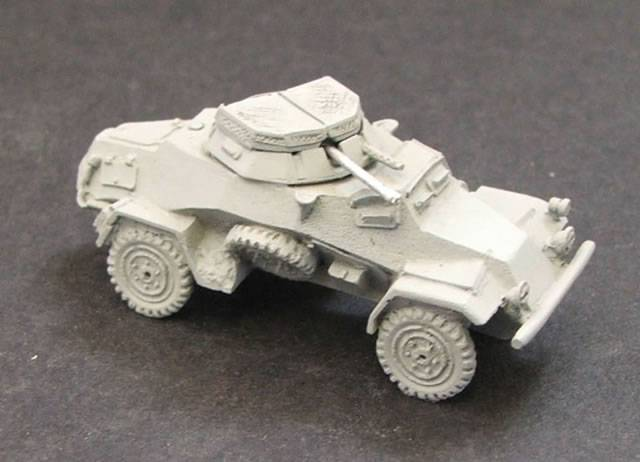 Sdkfz 221 and 222 Armored Cars