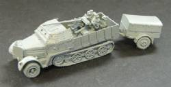 Sdkfz 7/2 with Armored cab