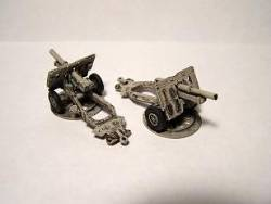 25pdr Field Gun with Limbers