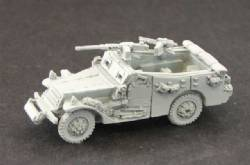 White Scout Car