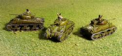 M4A4 Sherman Tanks