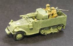 M3 75mm GMC SPG with crew