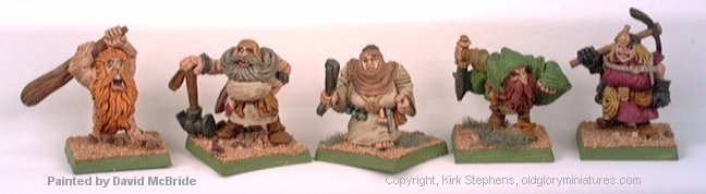 Dwarven Characters