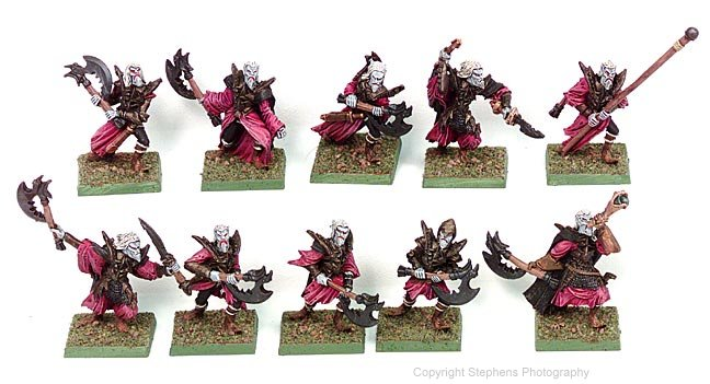 Death Elves Great Weapons Regiment (Axemen)