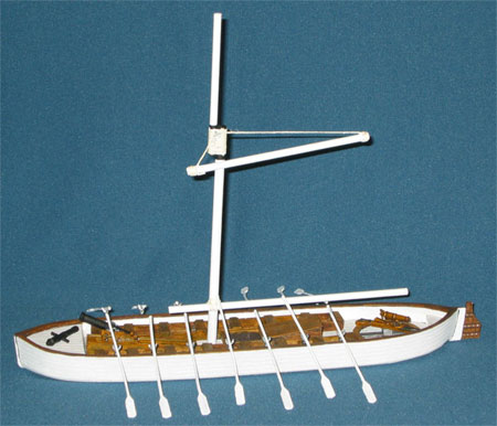 British Oared Gunboat