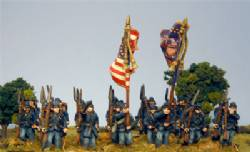 Second Edition Union Infantry Marching Shoulder Arms