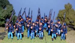Second Edition Union Infantry Right Shoulder Shift