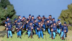 Second Edition Union Firing Line With Command