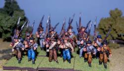 Second Edition Confederate Infantry Right Shoulder Shift