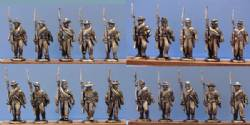 Confederate Infantry Marching - Shoulder Arms