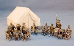 Confederate Camp Set with Tent