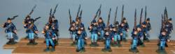 Union infantry Marching Right Shoulder Shift