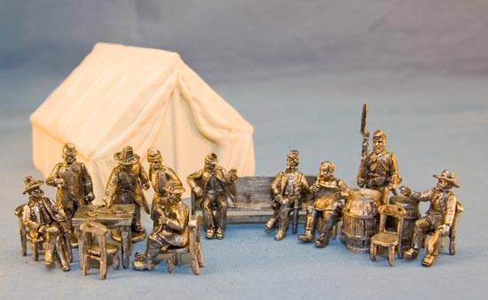 Union Camp Set with Tent