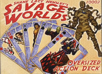 Savage Worlds Oversized Action Deck