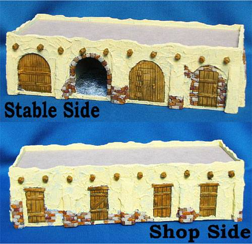Stucco Stable or Marketplace