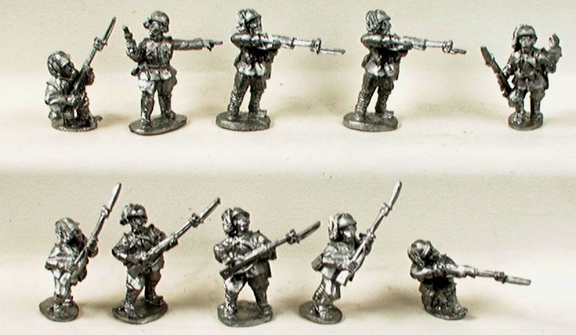 Italian Infantry with Command