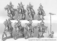 Heavy Cavalry Kontos and Bow