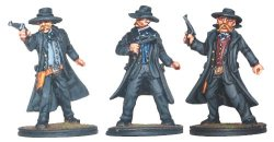 Morgan Earp, Wyatt Earp and Virgil Earp