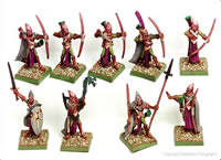 Good Elves Bow Regiment