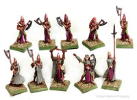 Good Elves Great Weapons - Axe Regiment