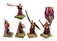 Elven King and Retinue