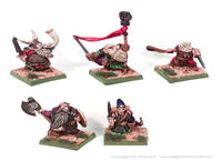Dwarven King and Retinue
