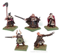 Nordvolk King and Retinue